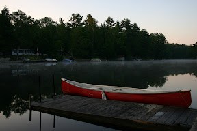 The dock at dawn