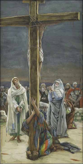 Woman, Behold thy Son - by James Tissot (1836-1902)