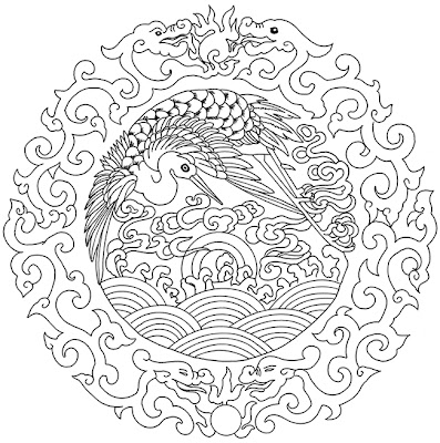 CHANGE IS A CONSTANT: Phoenix and Dragons Mandala