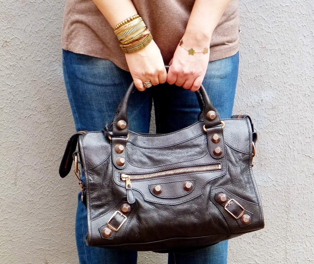Balenciaga City Giant bag RGH