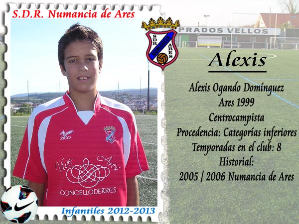 ADR Numancia de Ares. Alexis.