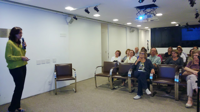 Workshop Oficina da Memoria, no Midrash Centro Cultural - Abril 2015