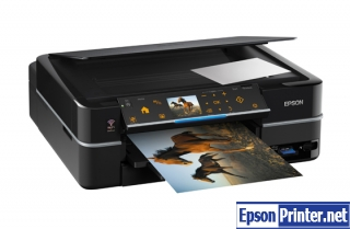 How to reset Epson TX720WD with tool