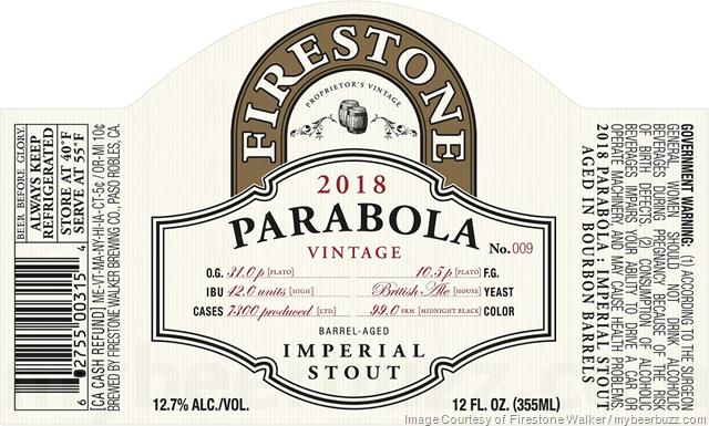 Firestone Walker - 2018 Parabola
