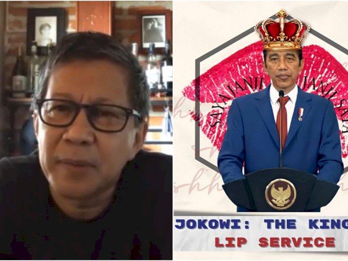 BEM UI Dipanggil karena Kritik Jokowi, Rocky Sindir Pimpinan UI Positif Stupid