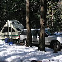 Yosemite NP Badger Pass x-country ski 3/27-30/06