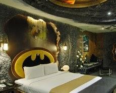 Batman Hotel Room England