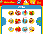 Curious George- Games Home