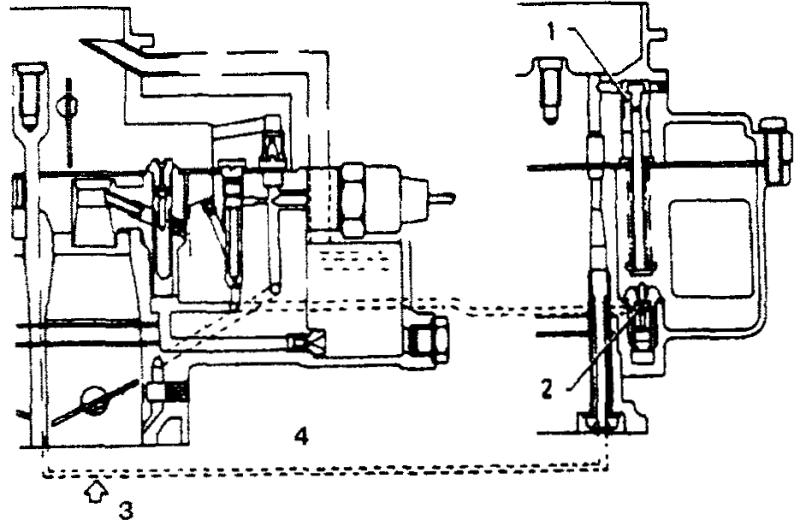 Схема обогатительного устройства