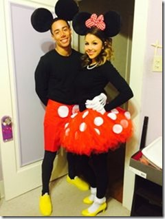disfraz de mickey y minnie mouse (4)