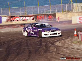 Purple Nissan Silvia with Aerokit.eu kit
