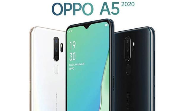 Oppo A5 2020 Spesifikasi