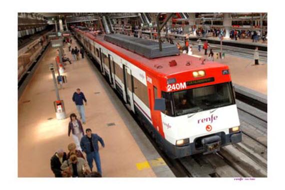 Trenes remodelados de la serie 446 para la línea C-5 de Cercanías