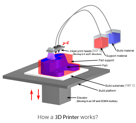 3D Printing, 3D Printer, 3D Printed stuff, 3D Printed material, Kolkata Bloggers, How does a 3D PRinter work, sculptures