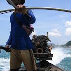 In de longtail boat