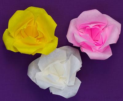 Magnolias - New Origami Model