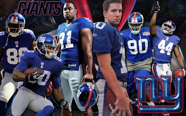 New York Giants Team Wallpaper
