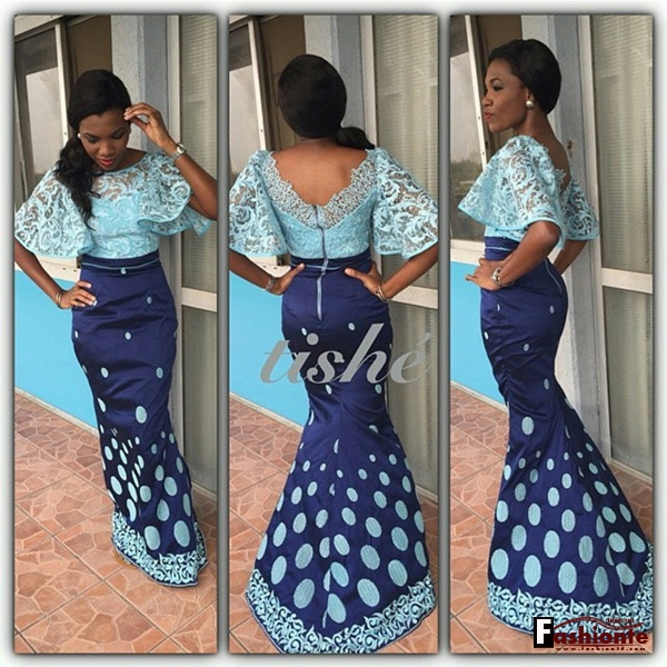50 Latest Nigerian Lace Skirt And Blouse Ankara Styles 2016 2017