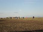 Pole účastníků - zbytek je kdesi za horizontem