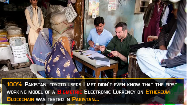 first biometric cryptocurrency tested in Pakistan, Sindh by UN