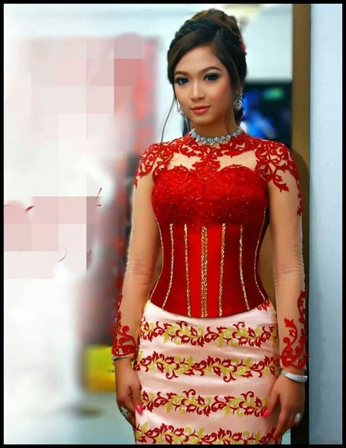1000  images about Myanmar dress on Pinterest | A well, Actresses ...