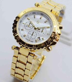 jam tangan Gc date chrono