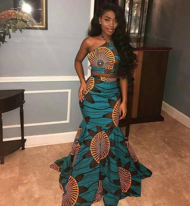 Modern Kitenge Dresses Style 2018