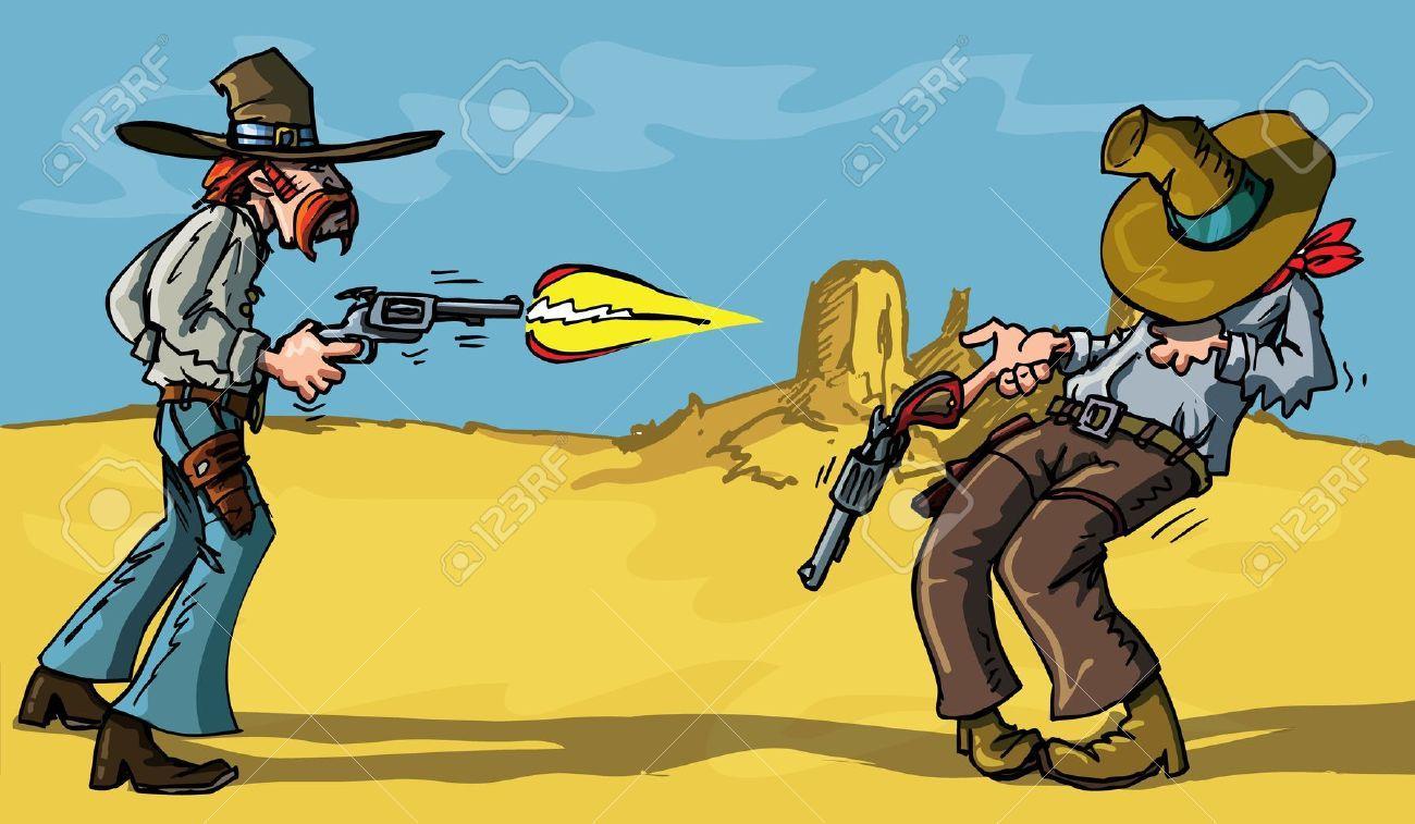 Image result for gunfighter CARTOONS