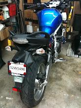 Photo: The donor bike.