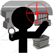 Stickman Killer : Top Gun Shot