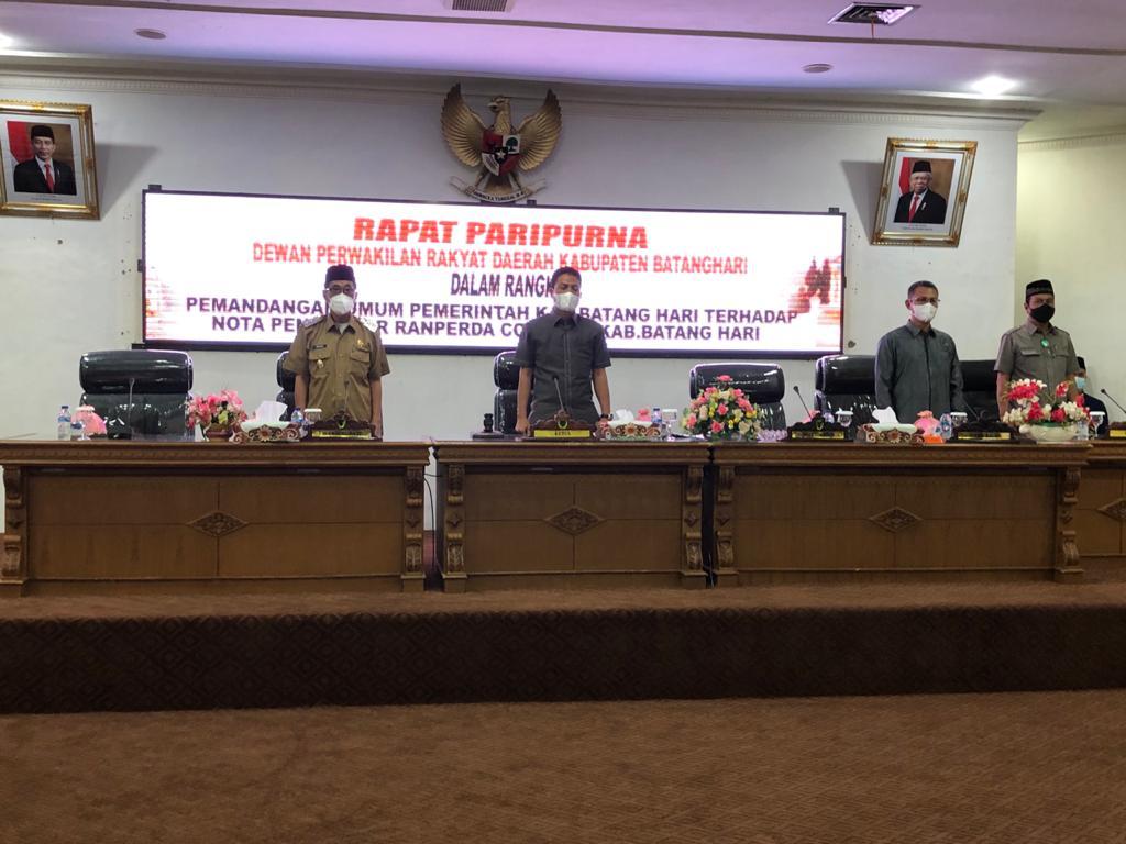 DPRD Batanghari Godok Ranperda Covid-19