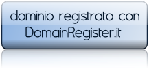dominio registrato con DomainRegister.it