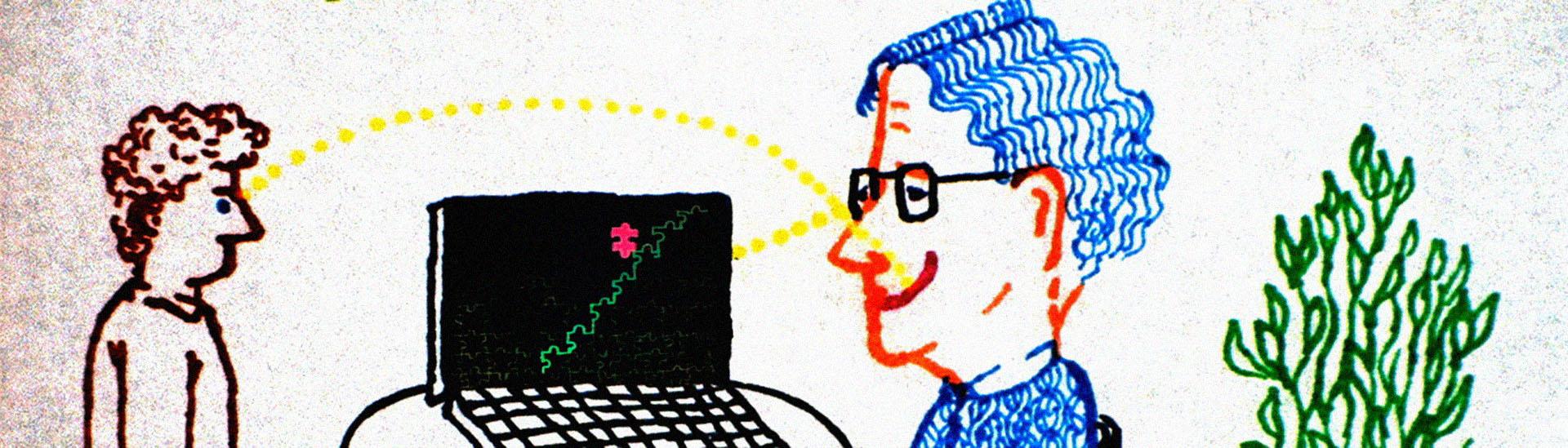 Baner filmu 'Czy Noam Chomsky Jest Wysoki Czy Szczęśliwy?'