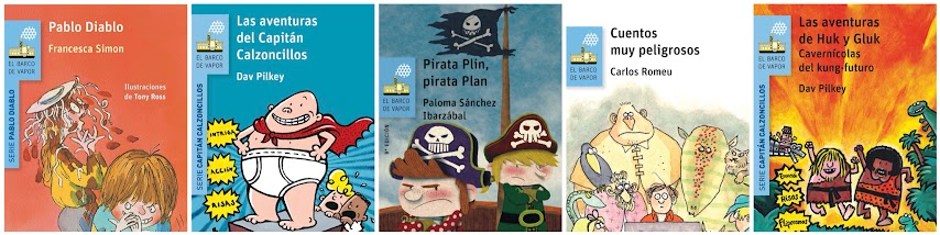 Libros El Barco de Vapor para niños de 7 años