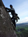 Justin on Poor Man's Peuterey (S) Tremadog