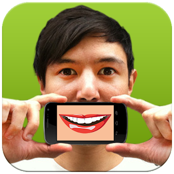 Talking Mouth Android App about, contact, photos