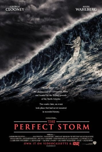 Poster Of The Perfect Storm (2000) Full Movie Hindi Dubbed Free Download Watch Online At Alldownloads4u.Com