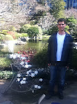 Mike in the San Mateo Japanese Garden