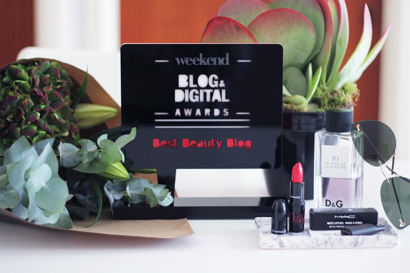 Weekend Blog & Digital Awards – Best Beauty Blog 2015