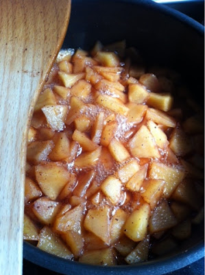 homemade apple marmalade