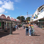 Velserhof shopping center in Velsen, Noord Holland, Netherlands