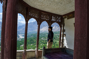 View from Baltit Fort, Hunza