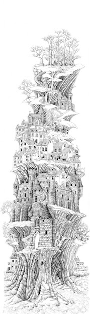Printable Colouring Page  Castle Point By Ellfi On Deviantart Coloring
