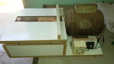 Lixadeira de Rolo caseira