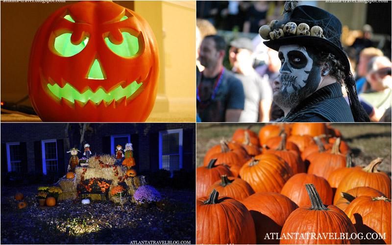 Праздник Хеллоуин в блоге Atlanta Travel
