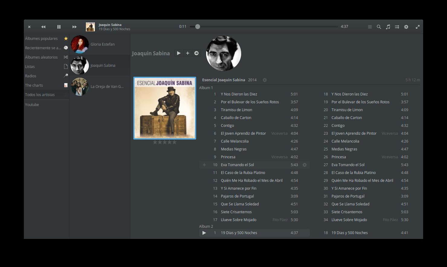 musica con linux mint