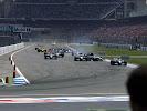 Start 2003 Germany F1 GP crash Raikkonen