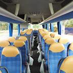 Het interieur van de M.A.N van Arriva Touring bus 471