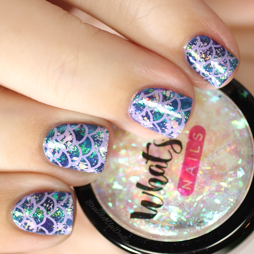 Whats Up Nails Mermaid Flakies