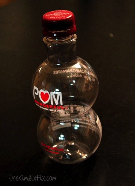 Empty pom bottle for craft